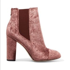 Sam Edelman Booties (Case embossed velvet ankle)